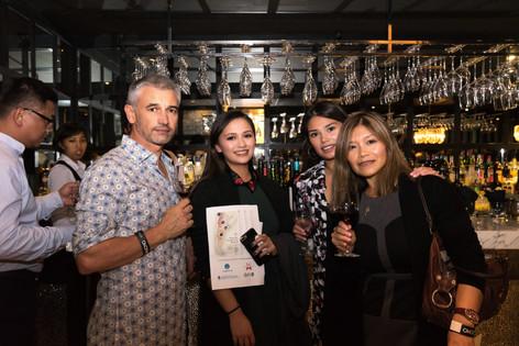Gaucau wine cocktail event