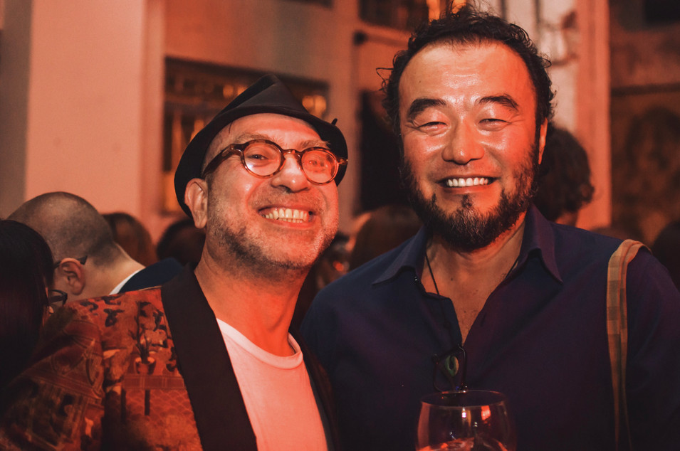 Art Basel Celecbration Drink Event