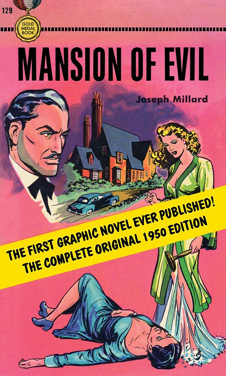Mansion of Evil by Joseph Millard