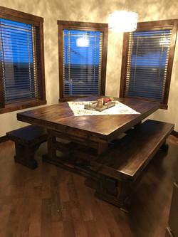 Viking Style Table & Benches