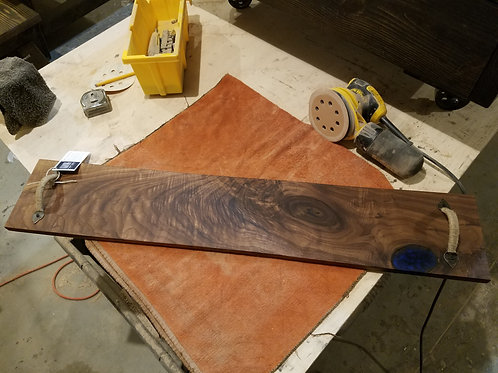 Walnut Serving Board #11