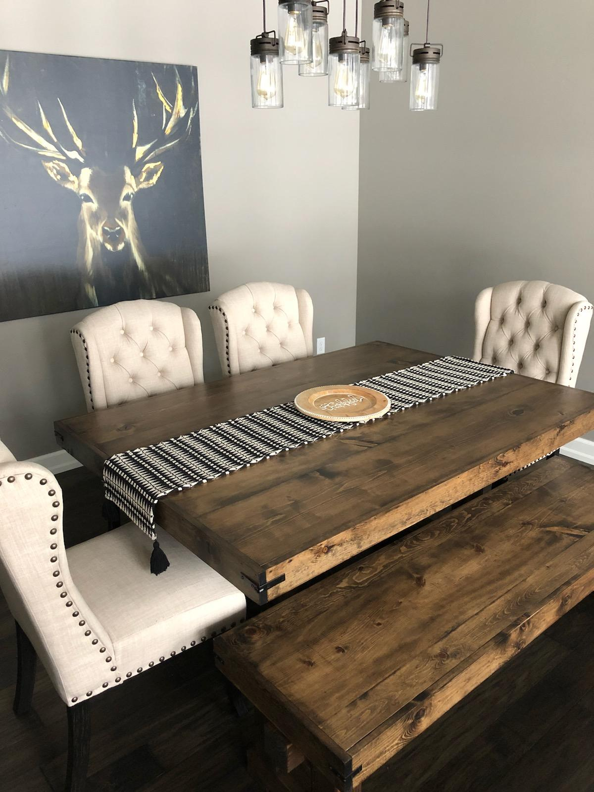 Viking Style Table & Bench