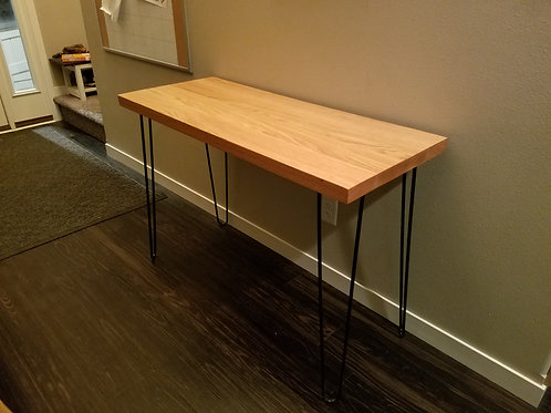 Oak Entry Table or Kids Desk