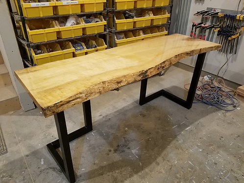 Reclaimed Slab Desk/Sofa Table