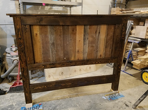Reclaimed Queen Headboard