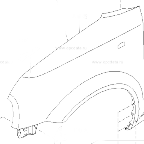 Front Fender / Wing