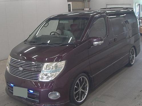 2007 Nissan Elgrand HWS premium