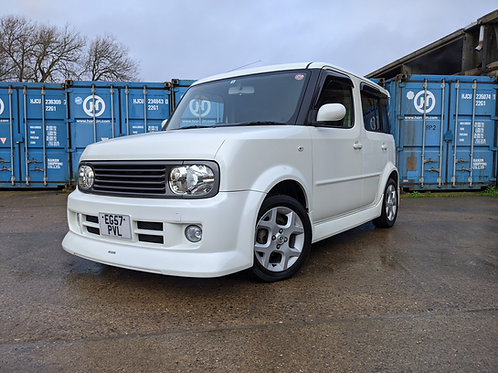 Nissan Cube Impul Pearl White