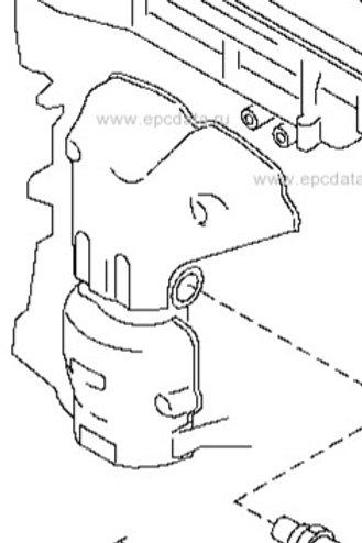 CR14DE Front Cat inc manifold