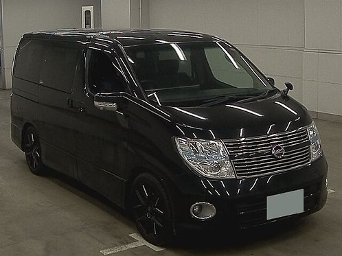 2009 Nissan Elgrand Highway Star 4WD
