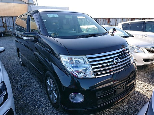 2007 Nissan Elgrand HWS Silver leather