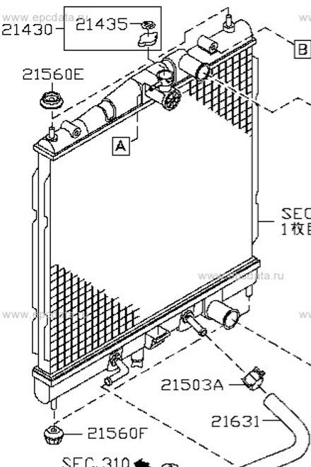 DENSO Radiator gen2 cubes