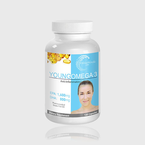 Young Omega-3 Fish Oil (120 capsules)