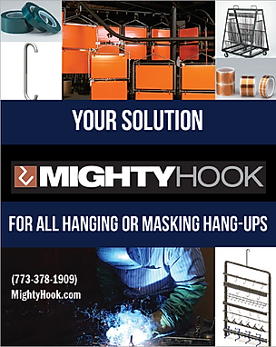 The Alias Group Advertising Work: Mighty Hook Powder Coated Tough Buyer's Guide Ad