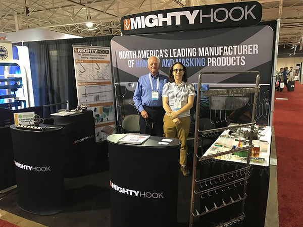 The Alias Group Trade Show Design Work: Mighty Hook Fabtech Trade Show Booth
