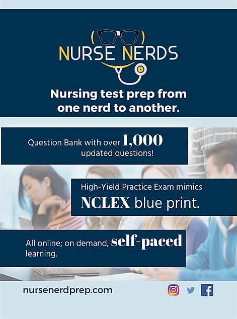 The Alias Group Advertising Work: Nurse Nerds by Exam Master Drexel University Ad