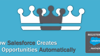 How Salesforce Creates Opportunities Automatically