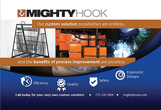 The Alias Group Advertising Work: Mighty Hook CFCM Magazine Ad