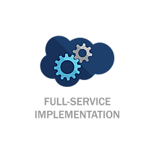 Full Service Implementation Icon_With Te