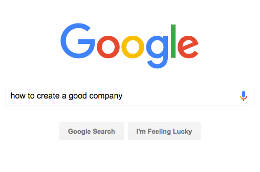 How to create a good company. Step 1: Don't follow any advice blindly