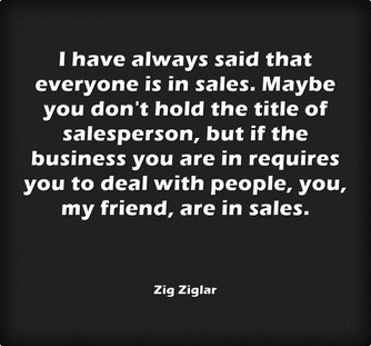 Everyone is in Sales