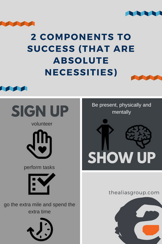 Culture of Success Series: Sign up then Show Up