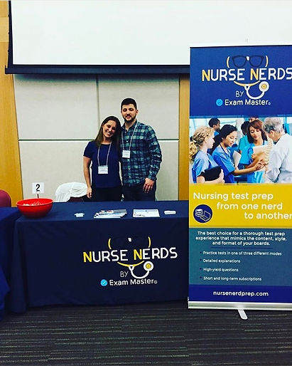 The Alias Group Trade Show Design Work: Nurse Nerds NSNA Convention Table Top Display