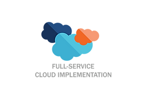 Full Service Cloud Implementation Icon_W