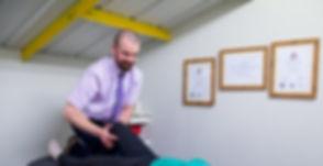 Chiropractor - pain relief