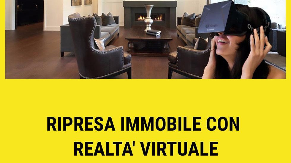Ripresa immobile con Realtà Virtuale