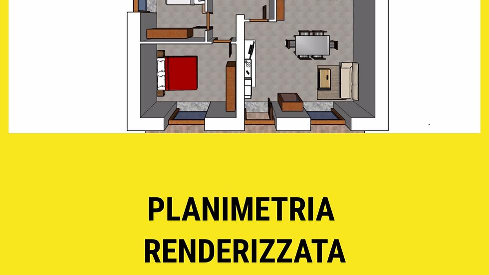 Planimetria renderizzata