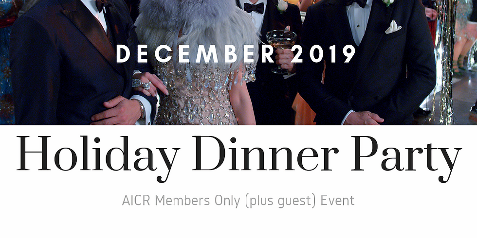 Holiday Dinner Party 2019