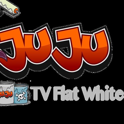 JuJu TV Flat White