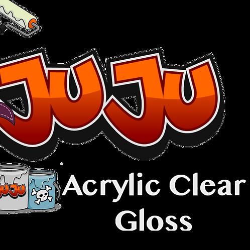 JuJu Acrylic Clear Gloss