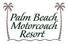 Palm Beach Motorcoach Resort Logo New Pa