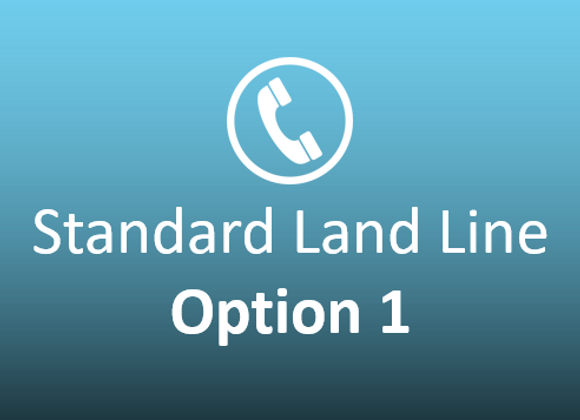 Standard Landline Option 1