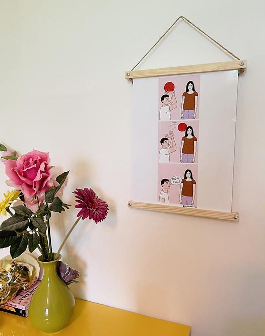 A3 DIY Wooden Print Frame