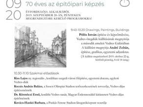 Drawings, paintings and buildings - Istvan Pölös Exhibition