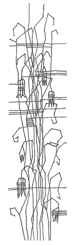 Zoltán André: Lines of a Plant Structure