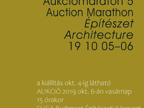 FUGA10 Auction - Architectural drawings and modells Exhibition