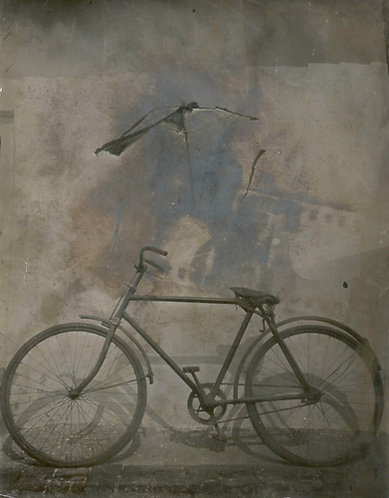 István Pölös: Old bicycle