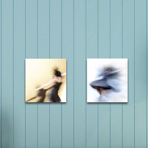 Kata Komuves: Collection Dance Canvas I.
