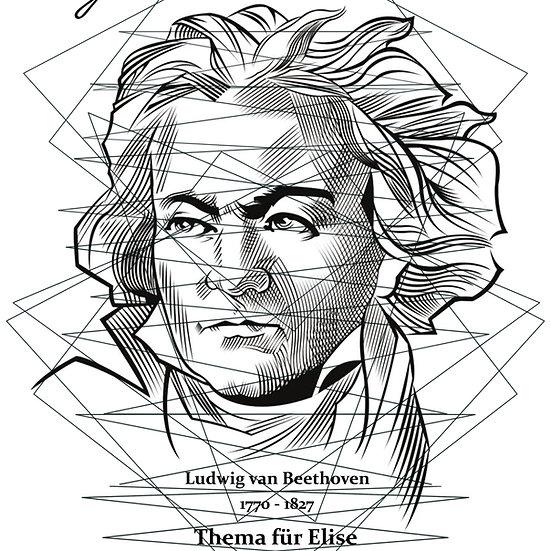 Thema für Elise L.v. Beethoven