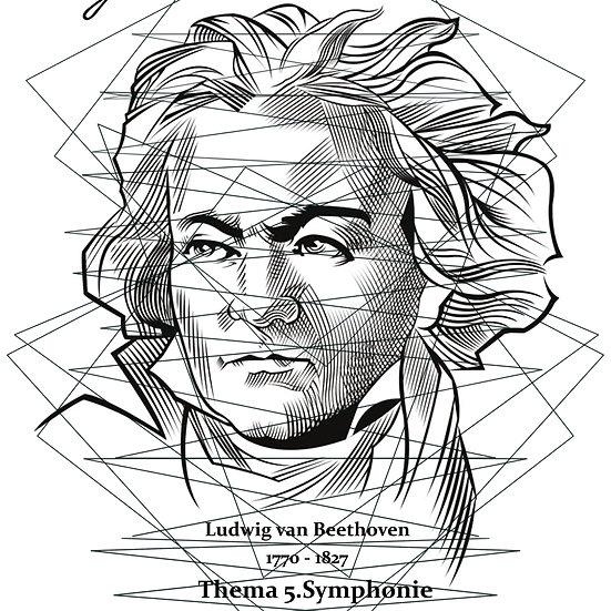 Thema 5. Symphonie L.v. Beethoven