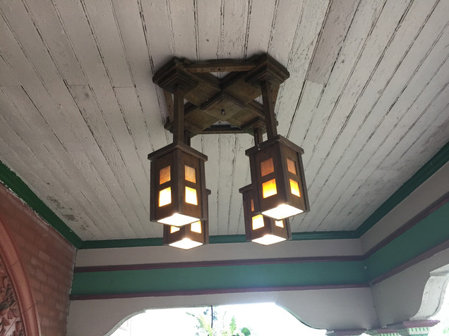 Craftsman Ceiling Light
