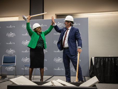 Charlotte Regional Visitors Authority Breaks Ground on the Charlotte Convention Center Expansion