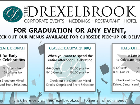 Drexelbrook Special Occasions Graduation Flyer