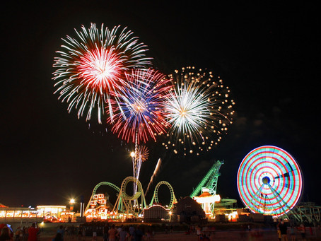 Free Weekly Friday Night Fireworks Start Friday, June 25 and Will Continue Through the Summer