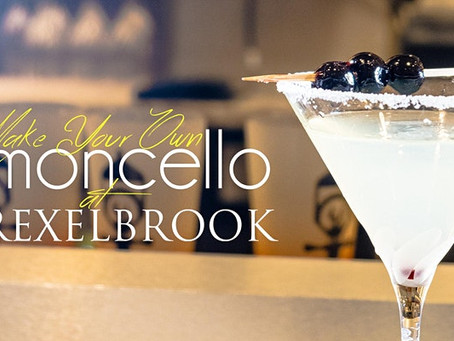 Take a Limoncello Class at The Drexelbrook