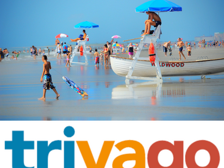 Wildwood, NJ Named Among 2020's Top 10 Most Popular Destinations for U.S. Travelers by trivago